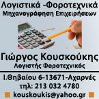 ΚΟΥΣΚΟΥΚΗΣ ΓΕΩΡΓΙΟΣ - ΛΟΓΙΣΤΗΣ